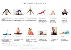 10 Minute Yoga Cool down for Runners