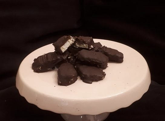 Raw Vegan Bounty Bars!!!