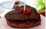 Little Miss Daisy's Sugar Free Super Healthy Raw Birthday Cake!!