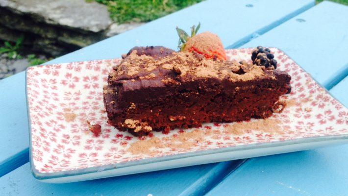 Daddy's Tadhg's Healthy Chocolate Birthday Cake!!