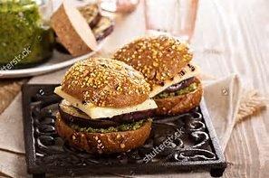 The Classy Veggie Burger
