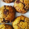 Vegan Super Healthy Hazelnut Choc Chip Nutritious Cookies